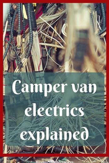 Build a camper van - electrics explained