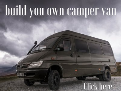 Build you own camper van conversion guide