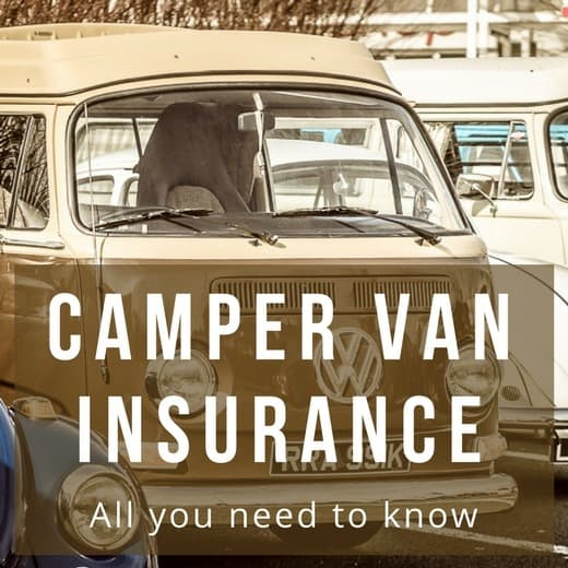 Build a camper van - Camper van insurance