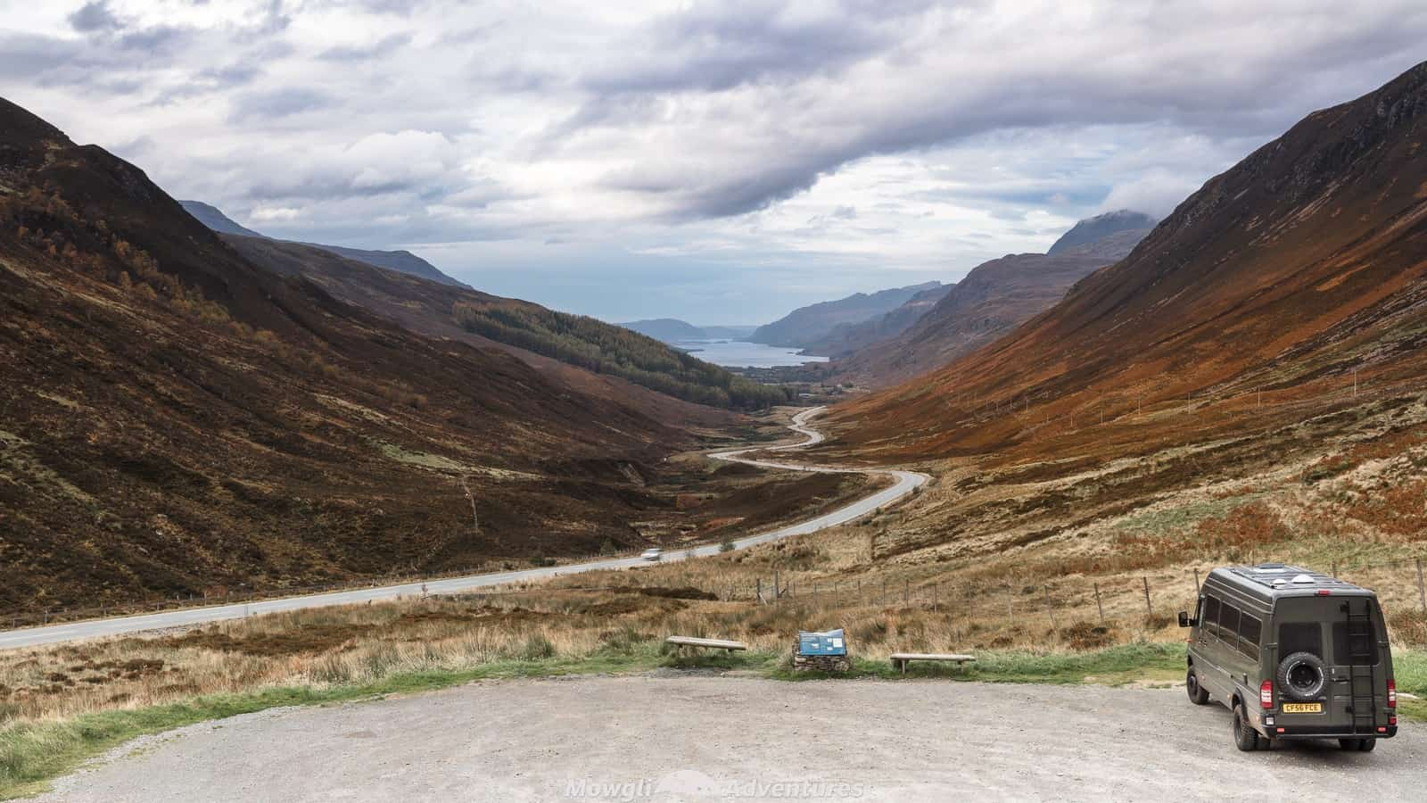 A guide to wild camping for motorhomes and camper vans