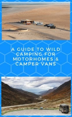 A guide to wild camping for motorhomes & camper vans