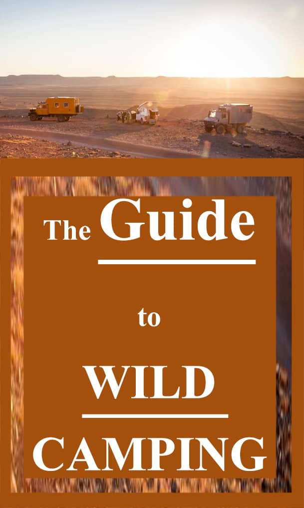 Pinterest - The Guide to Wild Camping in Your Motorhome