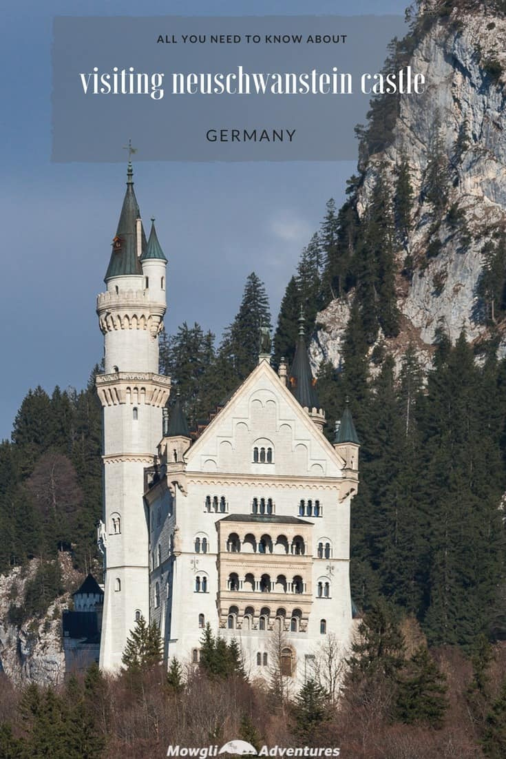 Visiting Neuschwanstein Castle tips, guide and facts - The most important tips, facts and guide you need before you visit Neuschwanstein Castle in Germany. Read the full article here: http://mowgli-adventures.com/visiting-neuschwanstein-castle/