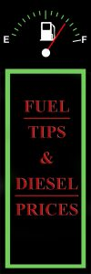 Pinterest - Fuel Tips and Diesel Prices