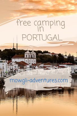 Check out this guide for fantastic free camping in Portugal. Save your accommodation budget money for more port and sardines! #RoadTrip #MoneySaving #Camping #Portugal Click here for the full article: //mowgli-adventures.com/free-camping-in-portugal/