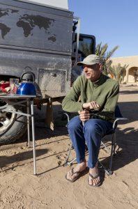 Coffee Tasting Demonstration in the Sahara Desert