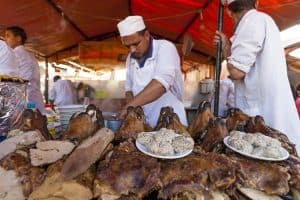 Guide to food stalls of Jemaa El Fna in Marrakech