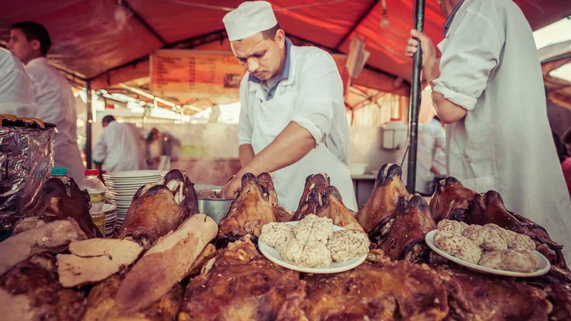 This local's guide to dining out in Jemaa El Fna Morocco will help you have an authentic culinary experience and avoid the tourist traps in Marrakech.