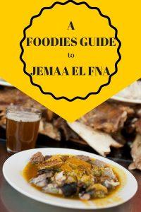 Pinterest - Foodies Guide to Jemaa El Fna