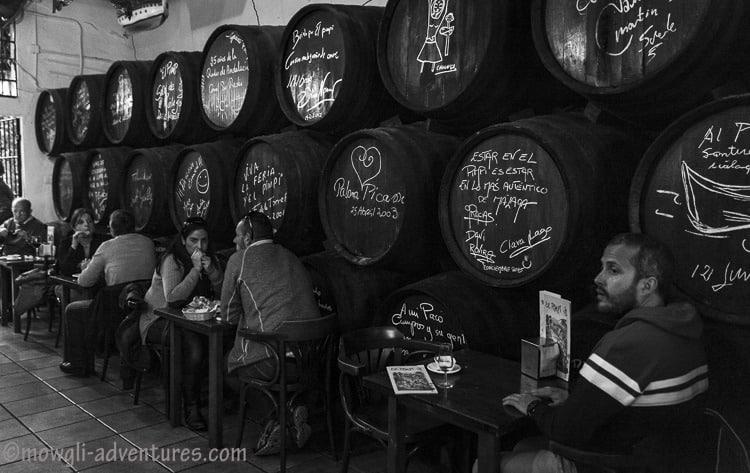 the best Spanish bar in Málaga