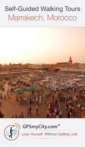 Marrakech city walks app