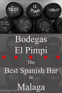 Pinterest - Bodegas El Pimpi Best Spanish Bar In Malaga
