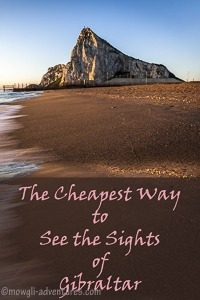 Pinterest-Cheapest Way to See the Sights of Gibraltar