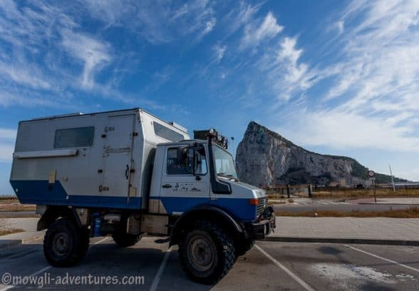 reasons to visit the rock of Gibraltar as an overlander