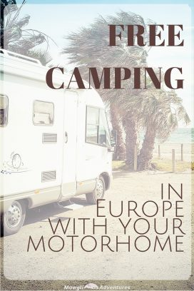 The cost of a road trip can quickly stack up and accommodation costs could be high. But do you know you can go FREE camping in Europe with your motorhome?