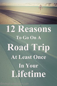 Pinterest - Reasons to go on a road trip