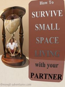 Pinterest - how to survive small space living with your partner_