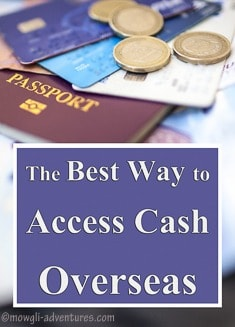 Pinterest - the best way to access cash overseas