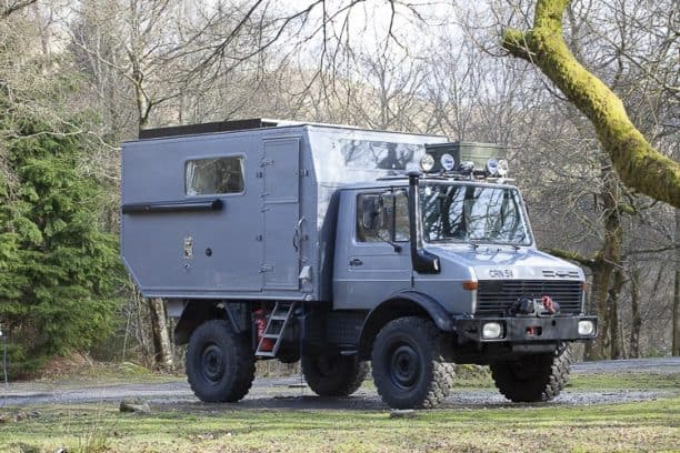 Meet our Unimog Camper called Mowgli
