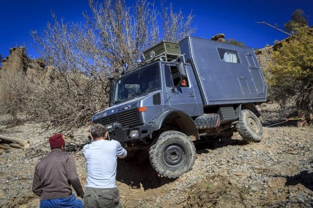 Unimog roll and self recovery