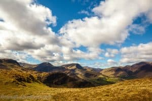 landscape of the English Lake District