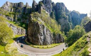 Cheddar Gorge cliff top walk