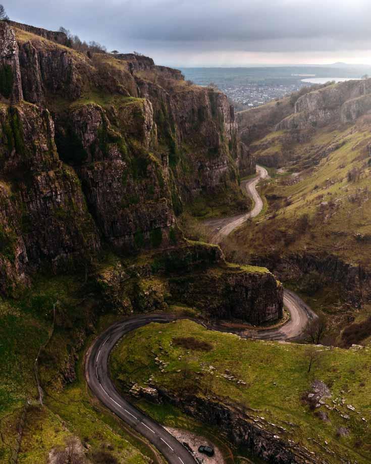 Cheddar Gorge walks afford some wonderful views