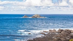 Have you seen Charles de Gaulle in the bath? Really! And in England too! The Brisons are near Cape Cornwall in England, aka Charles de Gaulle in the bath!