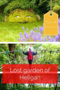 There is so much to explore at the lost garden of Heligan. A day of discovering secret gardens, rope bridges and a giant's adventure playground await you! #Cornwall #VisitBritain Read the full article here: //mowgli-adventures.com/photo-lost-garden-of-heligan/