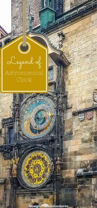 Prague's medieval Astronomical Clock is more than 600 years old! The legend of the Astronomical Clock in Prague only adds to its charm!