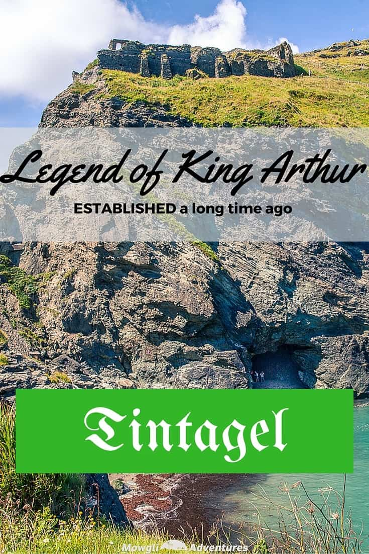 Tintagel and the legend of King Arthur. A place where history meets legend, Tintagel will always be associated with the King Arthur's legend.