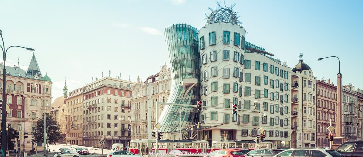 Photo: The Fred and Ginger Dancing House of Prague