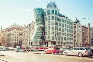 Fred and Ginger Dancing House of Prague