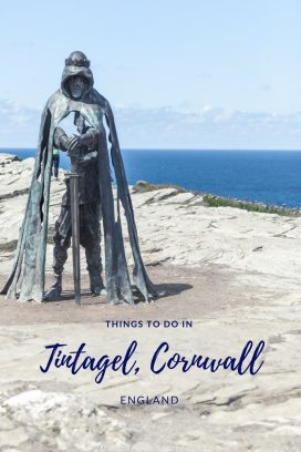Looking for a perfect Cornish day trip? Or to soak up some of the finest and most dramatic seaviews in the county? Then Tintagel, perched on the cliffs of the north Cornwall coast, is just what you're looking for. Our guide will show you exactly how to spend a day in Tintagel (or even longer), alongside our recommendations for things to do in Tintagel, where to eat and where to stay. It really is the perfect Cornish day trip! #Cornwall #Tintagel Read the full article here: //mowgli-adventures.com/tintagel-things-to-do-day-trip/