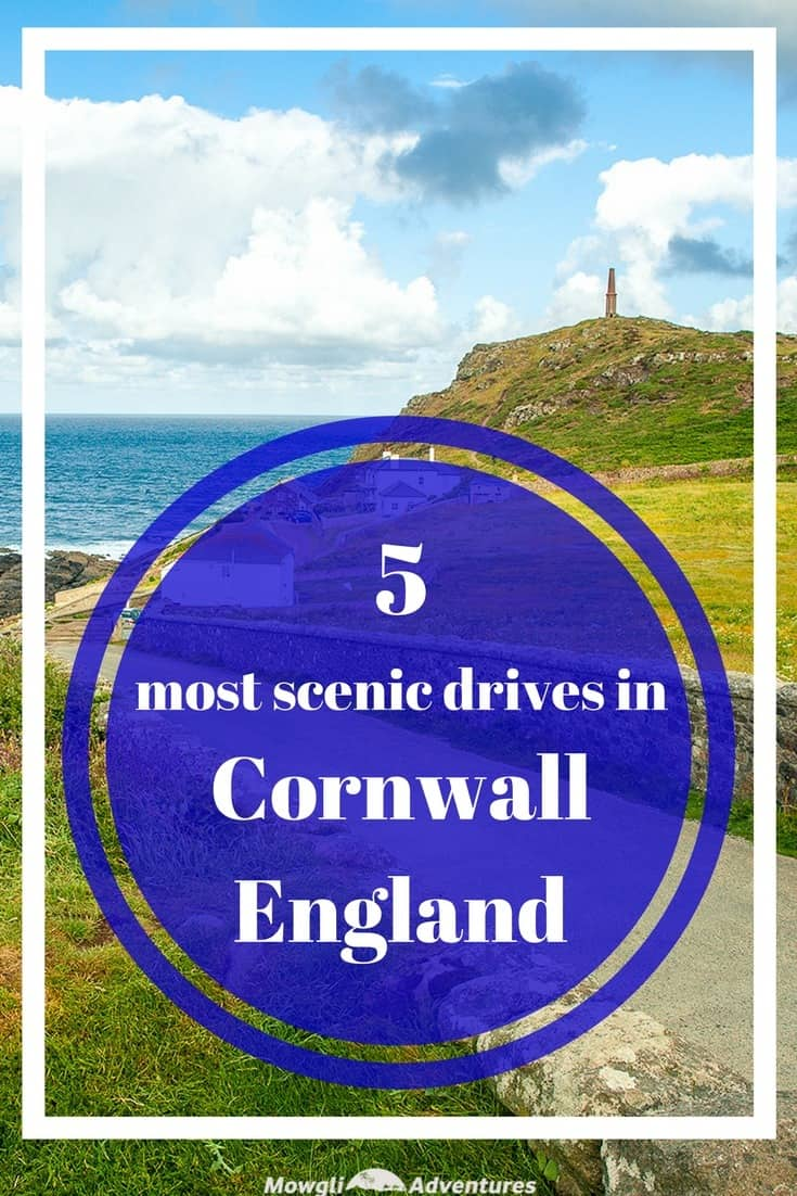 These most scenic drives in Cornwall will inspire your next driving holiday with empty country lanes, stunning coastlines and pretty clifftop villages. #Cornwall #England #ScenicDrives Read the full article here: http://mowgli-adventures.com/scenic-drives-in-cornwall/