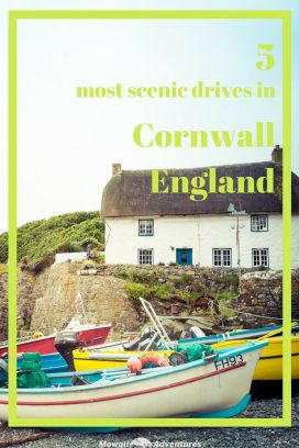 Cornwall's most scenic road trip routes will inspire your next driving holiday with empty country lanes, stunning coastlines and pretty clifftop villages. #Cornwall #England #ScenicDrives Read the full article here: http://mowgli-adventures.com/scenic-drives-in-cornwall/