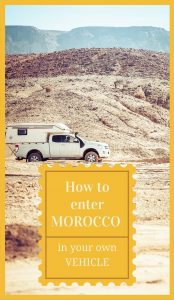 Morocco is a perfect destination for a road trip. This guide will show you how to enter Morocco in your own vehicle and help you through the process.