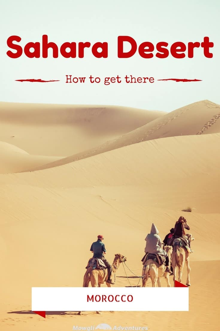 You want to go but you don't know how to get to the Sahara Desert in Morocco without a tour guide! This post has you covered. #OverlandTravel #Morocco #SaharaDesert Read the full article here: http://mowgli-adventures.com/how-to-get-to-the-sahara-desert-in-morocco/
