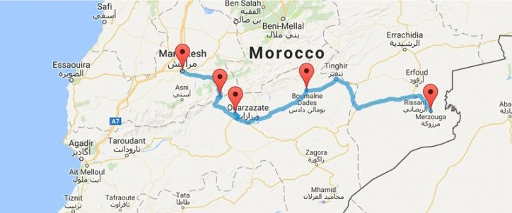 How to get to the Sahara Desert in Morocco | Mowgli Adventures