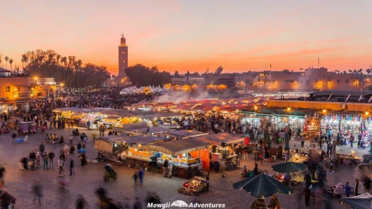There's so many things to do in Marrakech to overwhelm your senses. This brief guide to Morocco's red city has your back for your first visit. Plan your itinerary using our guide to Marrakech full of tips and useful information and fall in love with Morocco's red city, Marrakech. #Marrakech
