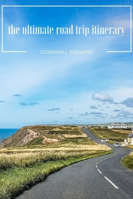 It's little wonder Cornwall is considered one of the most scenic stretches of coastline in England! With dramatic cliffs, hidden coves, lost gardens and the best ice cream ever, Cornwall is just begging to be explored. Here's our itinerary for the best road trip in Cornwall #Cornwall #RoadTrip #Travel #England Get the full route here: //mowgli-adventures.com/ultimate-road-trip-in-cornwall/