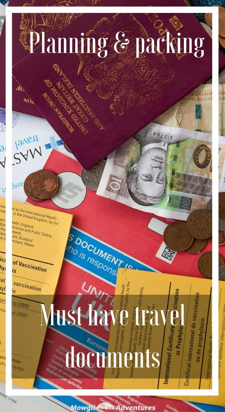 So long as you have these essential travel documents for overlanding, you can pretty much sort any situation you find yourself in. #Packing #EssentialTravelDocuments Read the full article here: //mowgli-adventures.com/essential-travel-documents-for-overlanding/