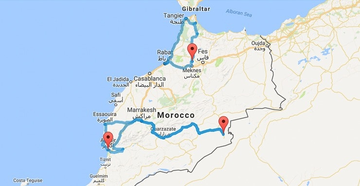 One week in Morocco  3 perfect itineraries  Mowgli Adventures