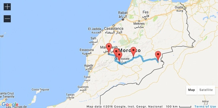 You'll be surprised how much you can see and do in just one week in Morocco. 3 perfect itineraries in Morocco's mountains, desert and coast. Complete with places to stay, route plans, maps and much more. #Morocco #RoadTrip #Travel Find out more by clicking on the following link: //mowgli-adventures.com/one-week-in-morocco-itineraries