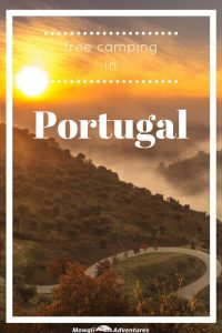 Free camping in Portugal