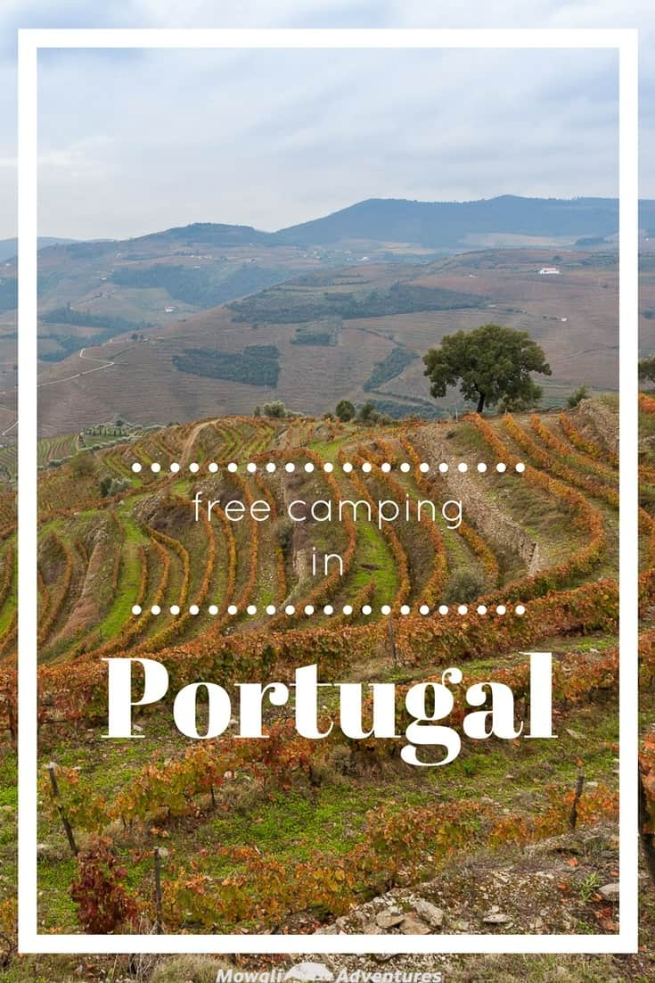 Check out this guide for fantastic free camping in Portugal. Save your accommodation budget money for more port and sardines! #RoadTrip #MoneySaving #Camping #Portugal Click here for the full article: http://mowgli-adventures.com/free-camping-in-portugal/