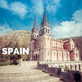Spain overland