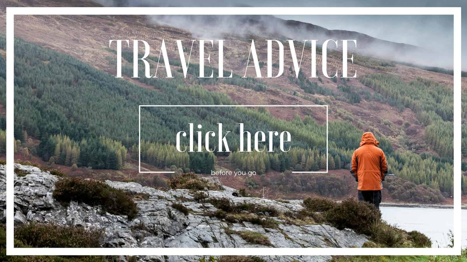 travel advice for overlanders