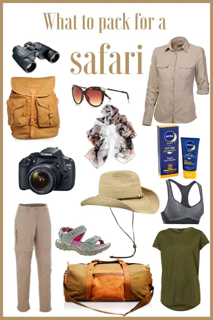 What to pack for a safari - going on a safari is right up there on many a bucket list and so it should be. But for first-timers, knowing what to pack for a safari isn't as straight forward as pack for an average city break. To help you avoid ruining one of the most adventurous travel experiences you'll ever have, we've pulled together this definitive list of what to pack for a safari. #SafariPacking #PackingforaSafari Read the full article here: http://mowgli-adventures.com/what-to-pack-for-a-safari-in-africa/