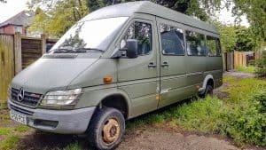 Base vehicle for your camper van conversion - minibus conversion